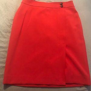 Poppy (Red) Ann Taylor Skirt